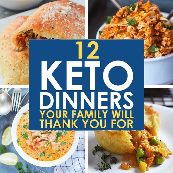 Keto Recipes Low Carb Dinner Ideas - Square Promo