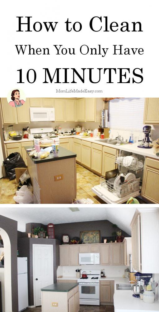 Cleaning house is a chore no matter what state it's in when you start. Get the low down on how to clean when you only have 10 minutes! That's definitely do-able during nap time!