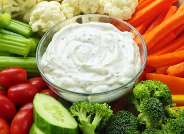 2 Minute Ranch Dip without a Mix