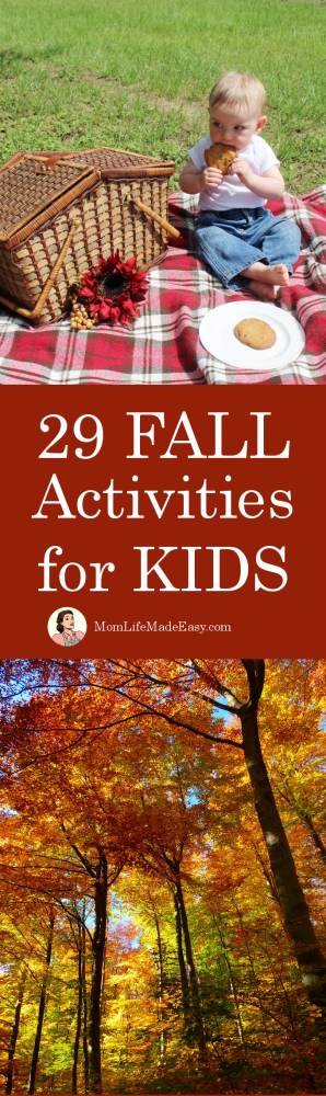 Get in the autumn mood with some fall activities for kids. Enjoy the season even when it's hot! Plus, most of them are completely free!