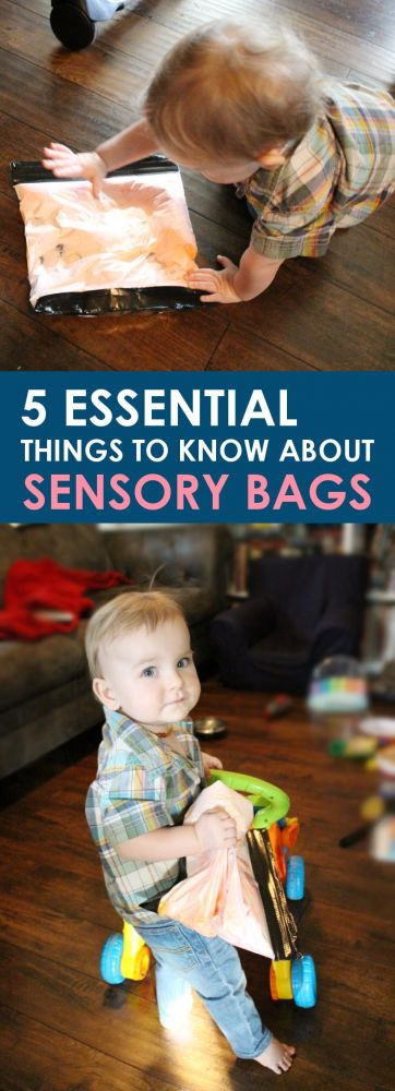 If you have little kids then you've surely heard of sensory bags. Here are 5 essential things you should know about sensory bags when making your own!