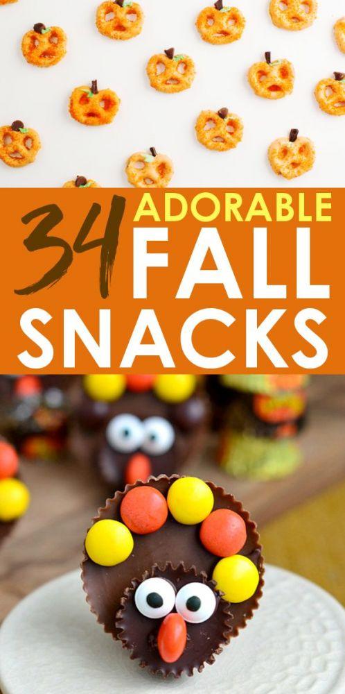 Fall Treats and Halloween Snacks