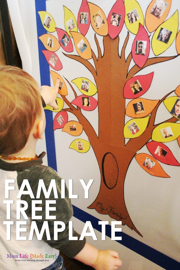 Family Tree Activity for kids