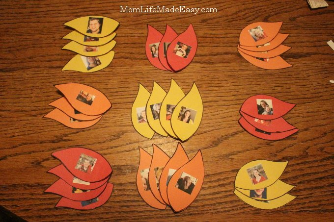 Since we only live near some of our family members, I wanted a way for my son to start recognizing those people we don't see often. This easy, magnet free, fridge game is the perfect way to help him learn to spot his family members!