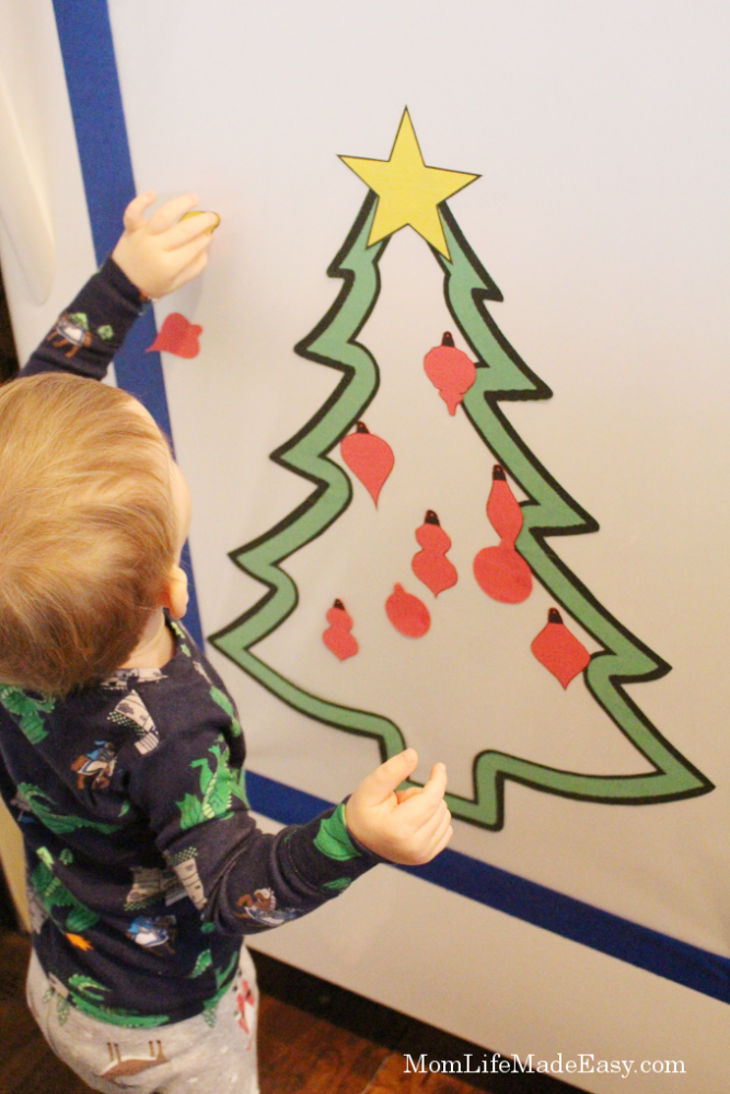 Toddler Christmas Tree Craft.Fridge Christmas Tree Craft For Toddlers Mom Life Made Easy