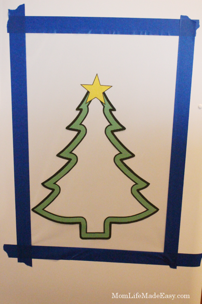 Christmas tree craft and activity for kids