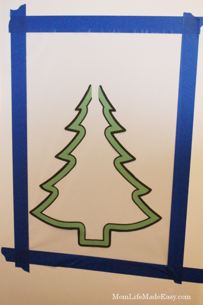 Magnet free christmas tree game