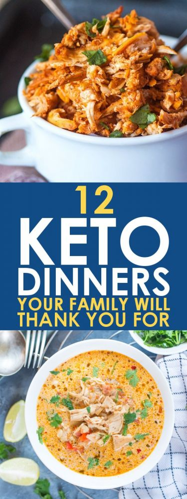 Keto recipes: Low carb meals that your whole family will actually eat might seem impossible. But these 12 Keto dinner ideas are exactly what you need for the perfect meal that everyone will love!