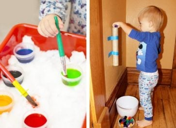 14 indoor toddler activities and games