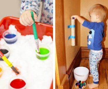 14 indoor toddler activities and games