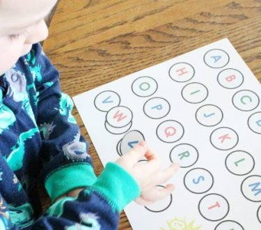 The Alphabet: Teaching Toddlers Letters
