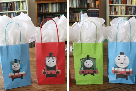 photograph relating to Thomas and Friends Printable Faces called Do it yourself Thomas and Buddies Occasion Luggage - Absolutely free Printable of 8