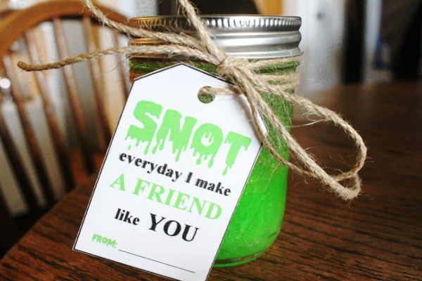 Snot Slime Kid Gift Class Gift Christmas - DIY Slime Recipe Finished