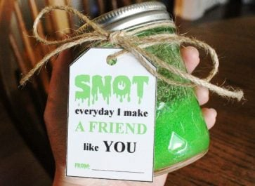 Snot Slime – DIY Slime Recipe