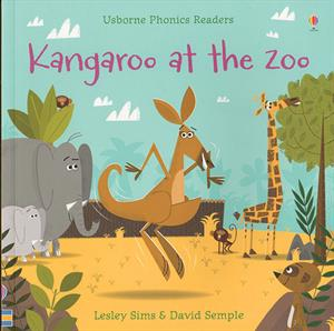 phonics reader kindergarten book kangaroo at the zoo