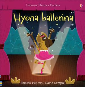 phonics reader kindergarten book hyena ballerina