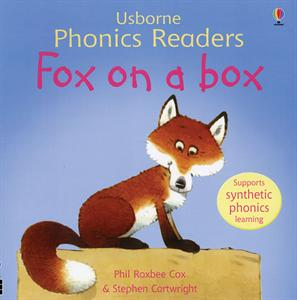 phonics reader kindergarten book fox on a box