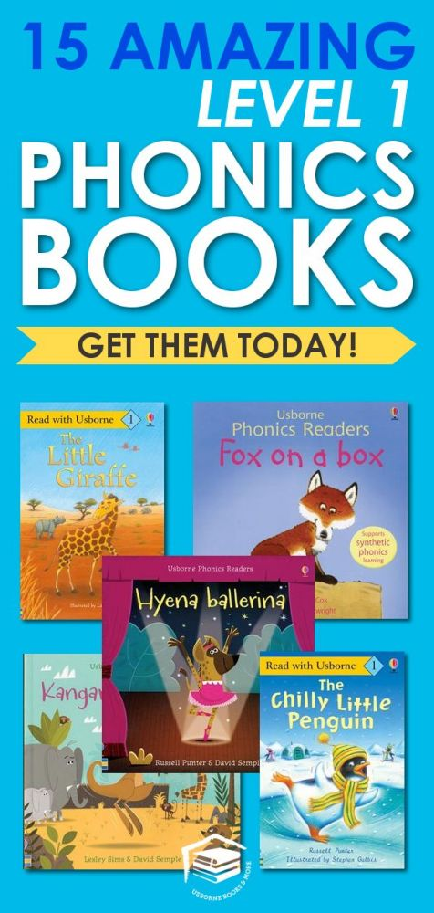 phonics reader kindergarten books