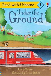 kindergarten book about things under the ground