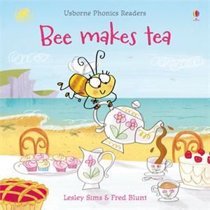 phonics reader kindergarten book bee makes tea