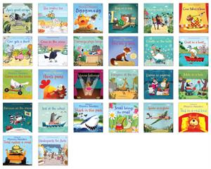 Complete set of phonics reader kindergarten books