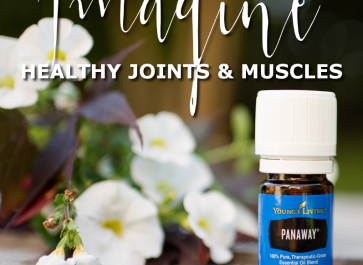 Healthy Joints and Muscles with panaway essential oil