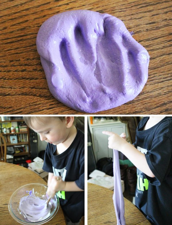 fluffy slime step by step picture guide