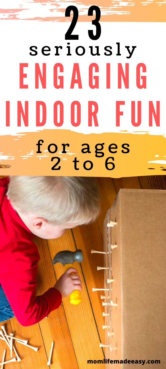 indoor activity for kids