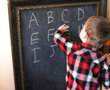 easy game for learning numbers and letters