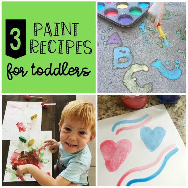 homemade paint recipes 3 ways