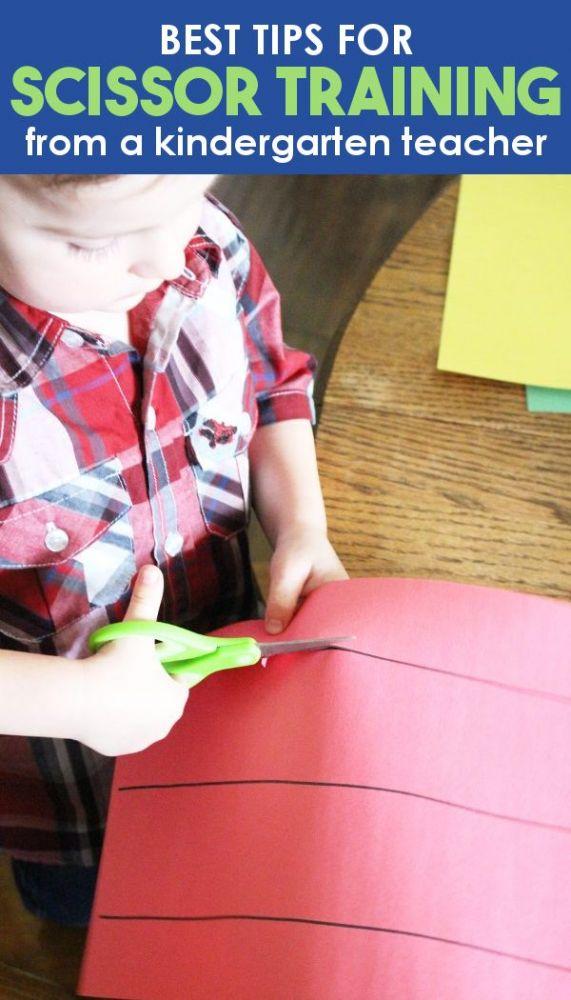 Best tips for scissor training from a kindergarten teacher