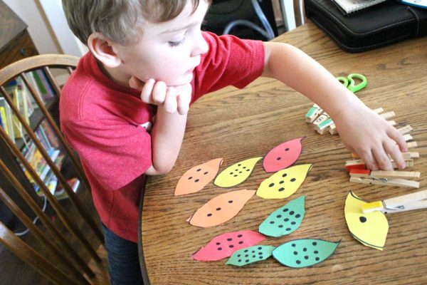 Fall Math Activities for Preschoolers and Kindergartners