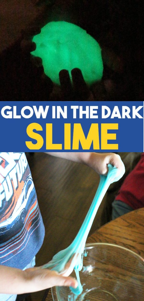 glow in the dark slime promo image