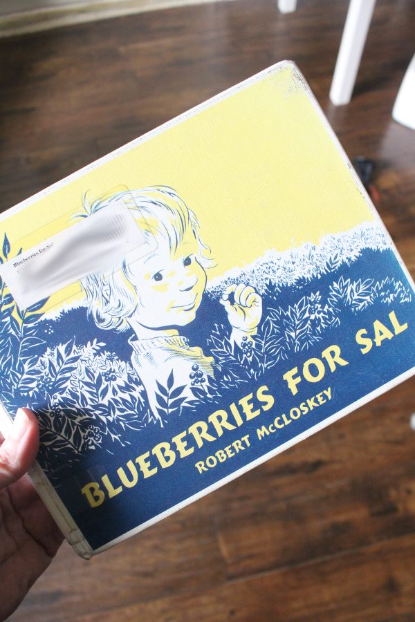 blueberries for sal front cover