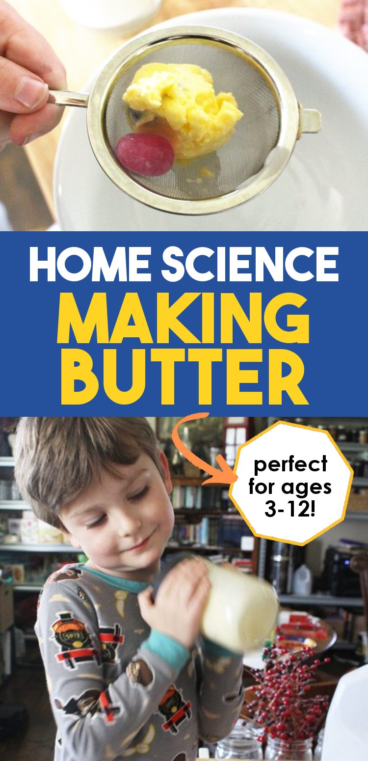 how to make butter with kids promo
