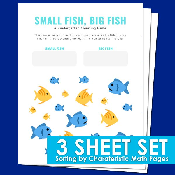Sorting: Kindergarten Math Worksheets Mom Life Made Easy