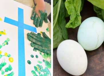 Easter learning ideas for art and science