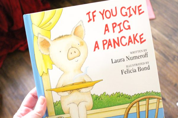 if you give a pig a pancake book front cover