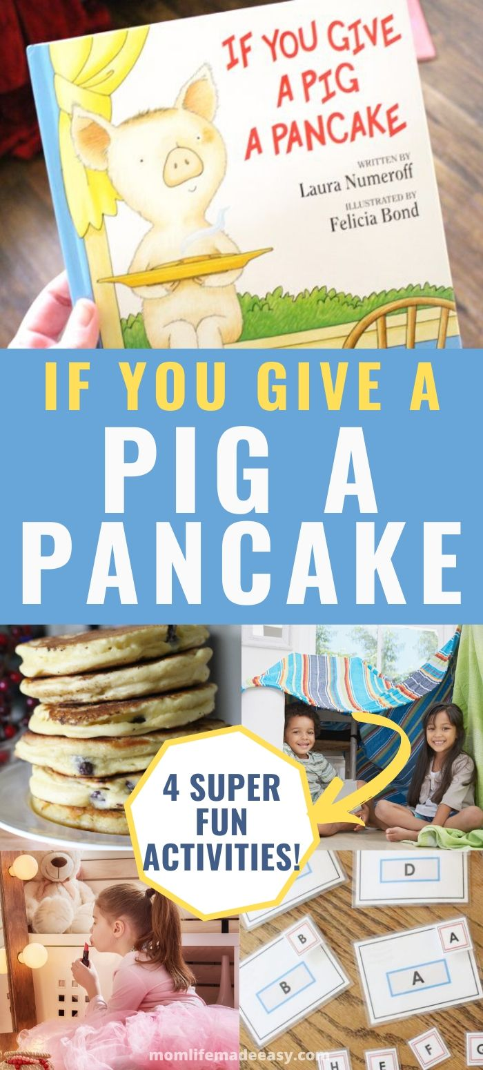 if you give a pig a pancake activities promo image