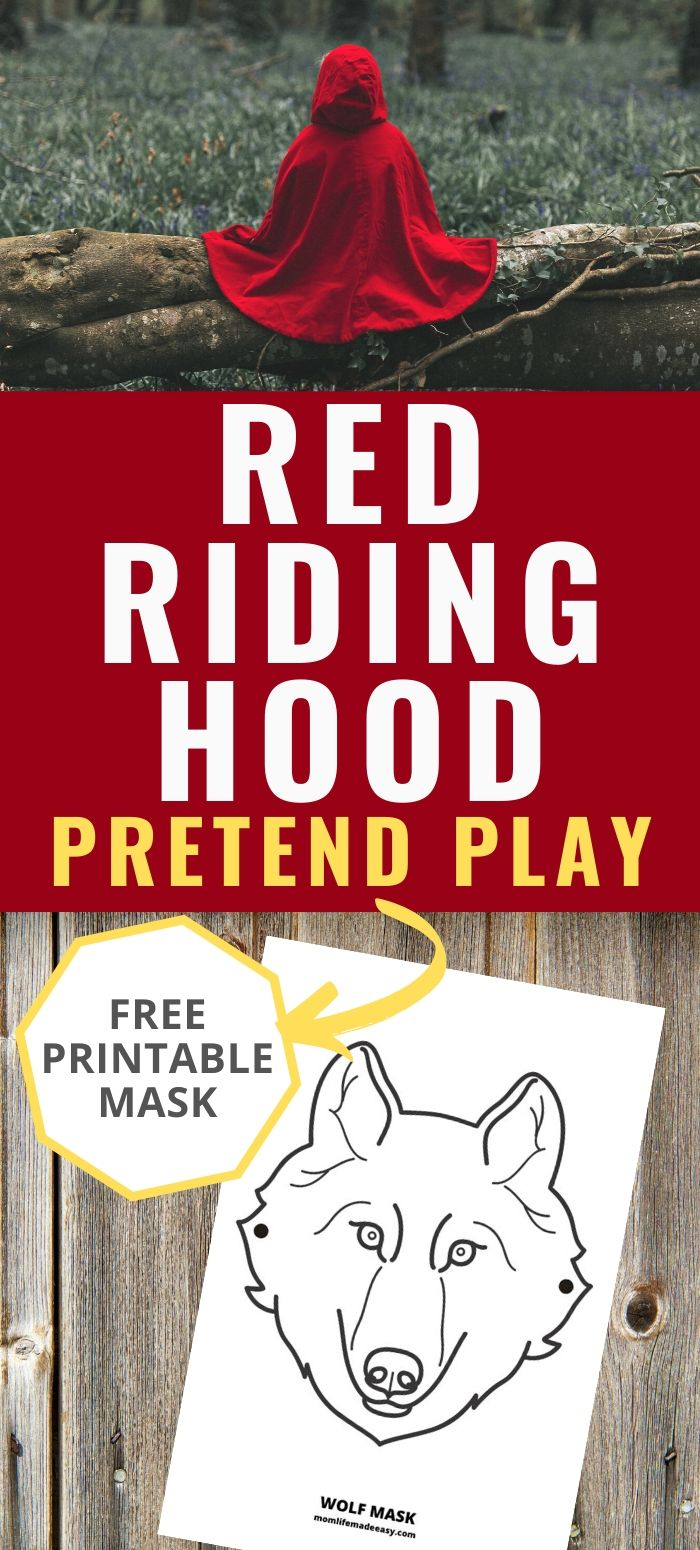 little red riding hood pretend play promo image