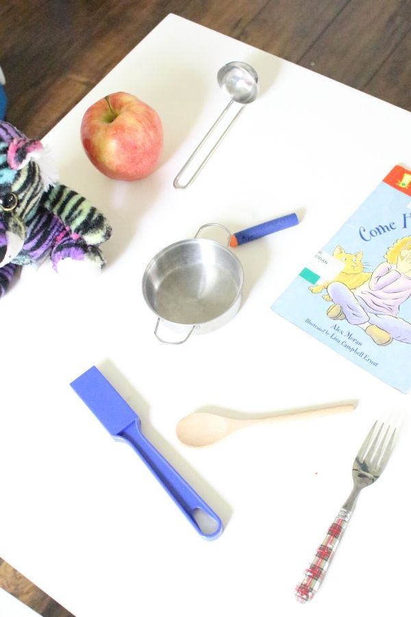 spread of items for magnetic science stem activity