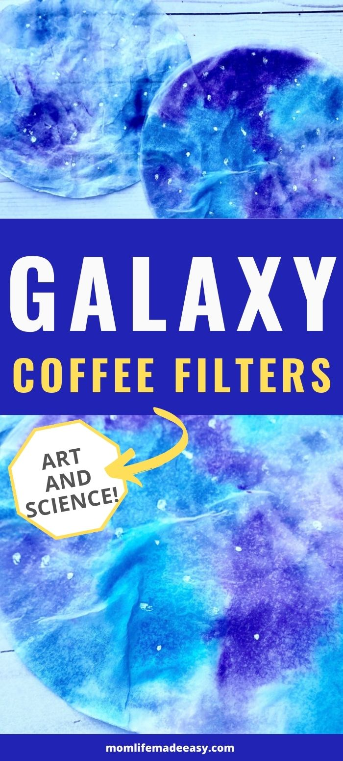 galaxy coffee filter craft promo image