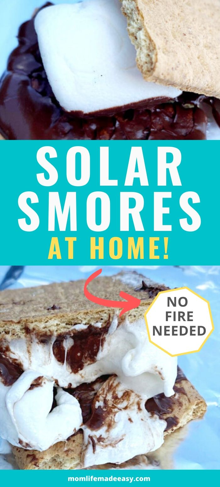 smores at home with chocolate marshmallow and graham crackers promo image