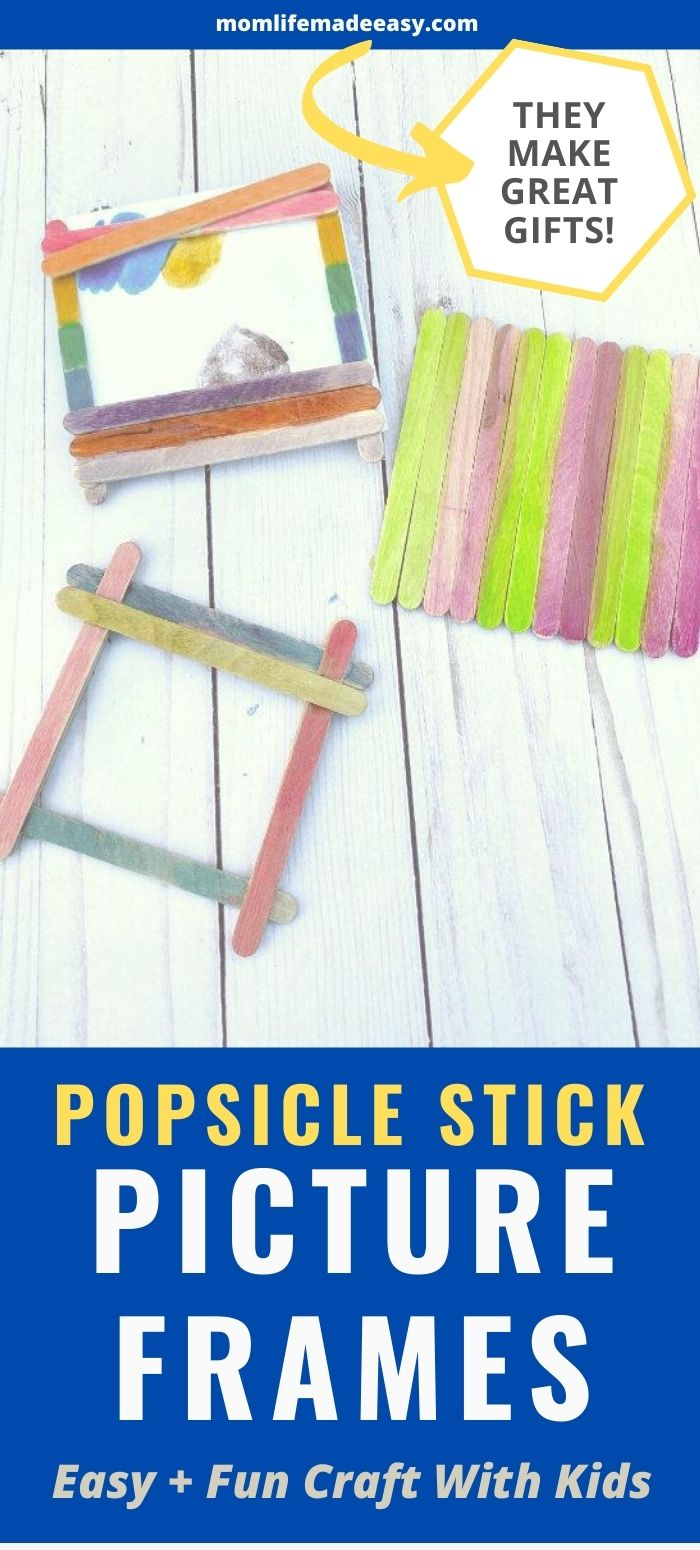 popsicle stick picture frame promo image