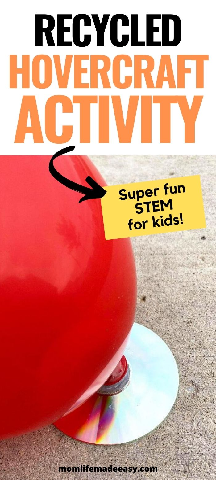 hovercraft recycling project for kids promo image