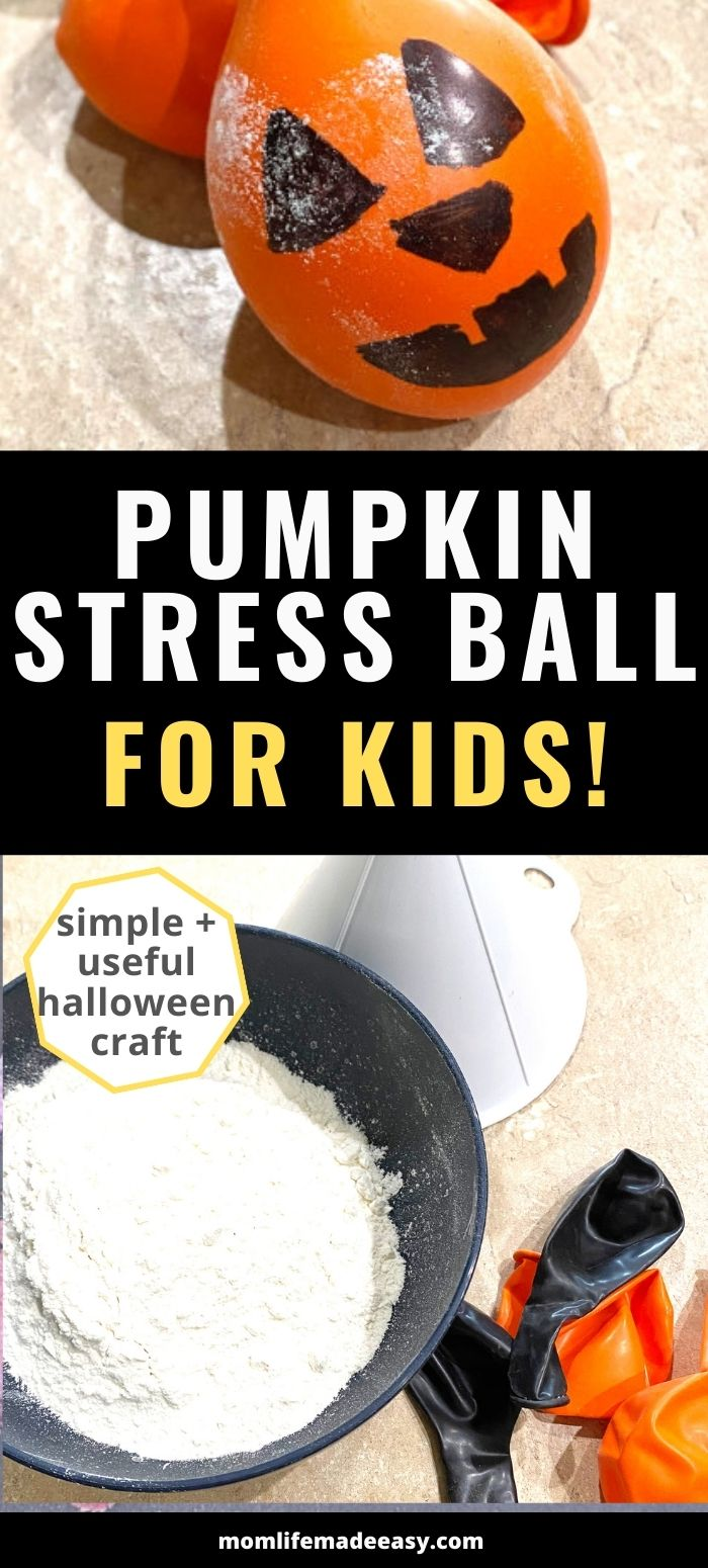 DIY stress ball pumpkin promo image