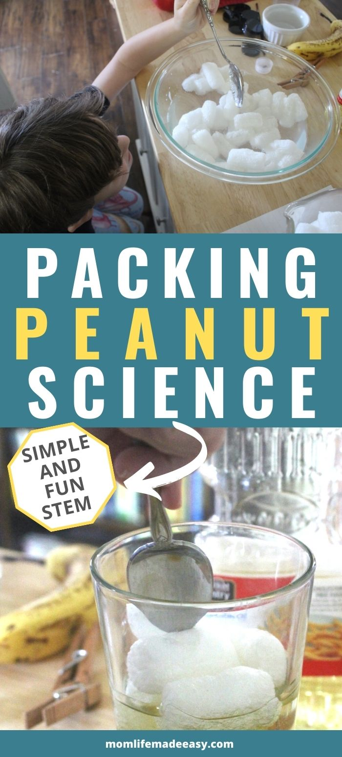 packing peanut fun science promo image