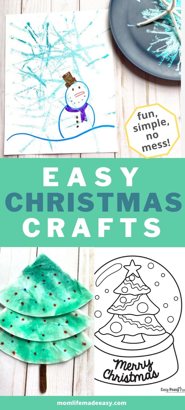Easy Christmas Crafts Promo Image