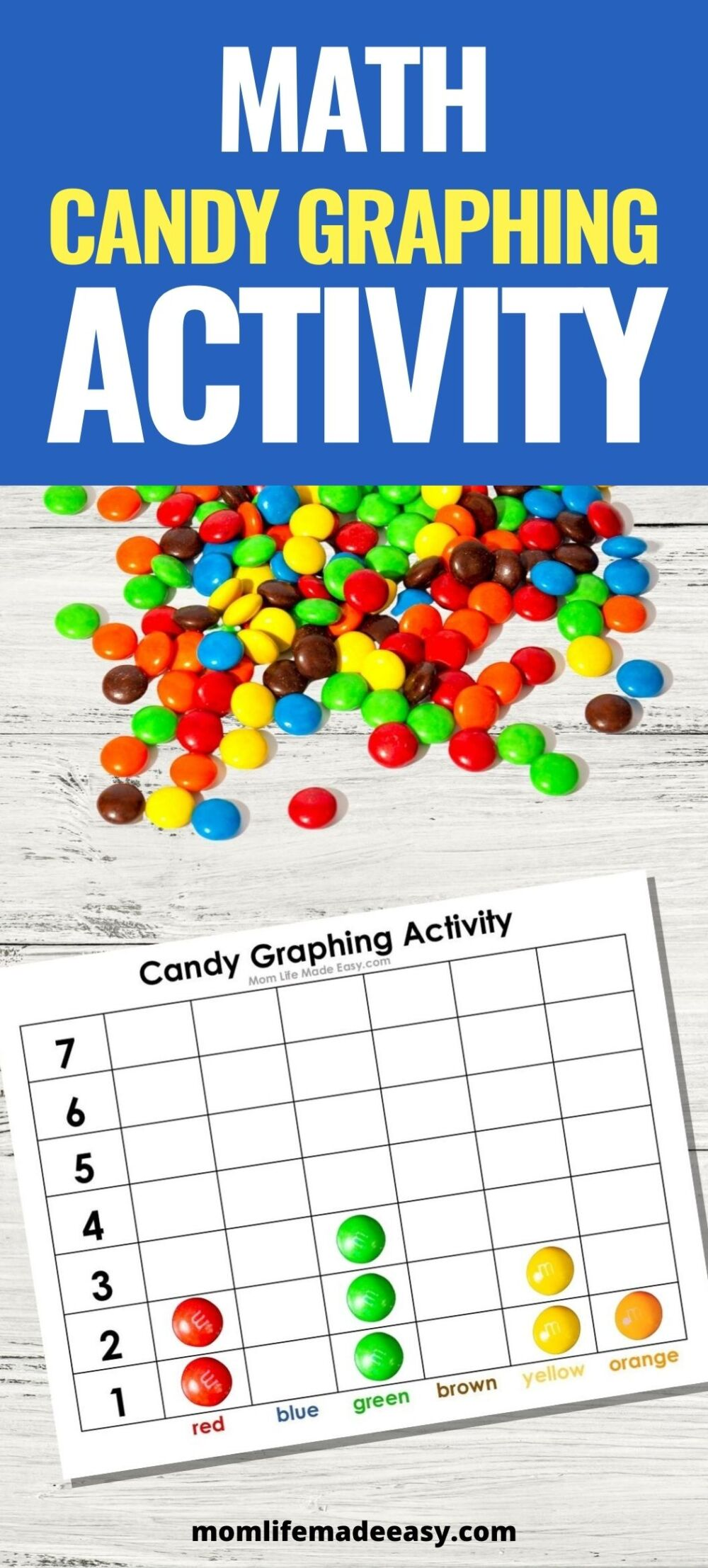 candy graphing printable graphs promo image