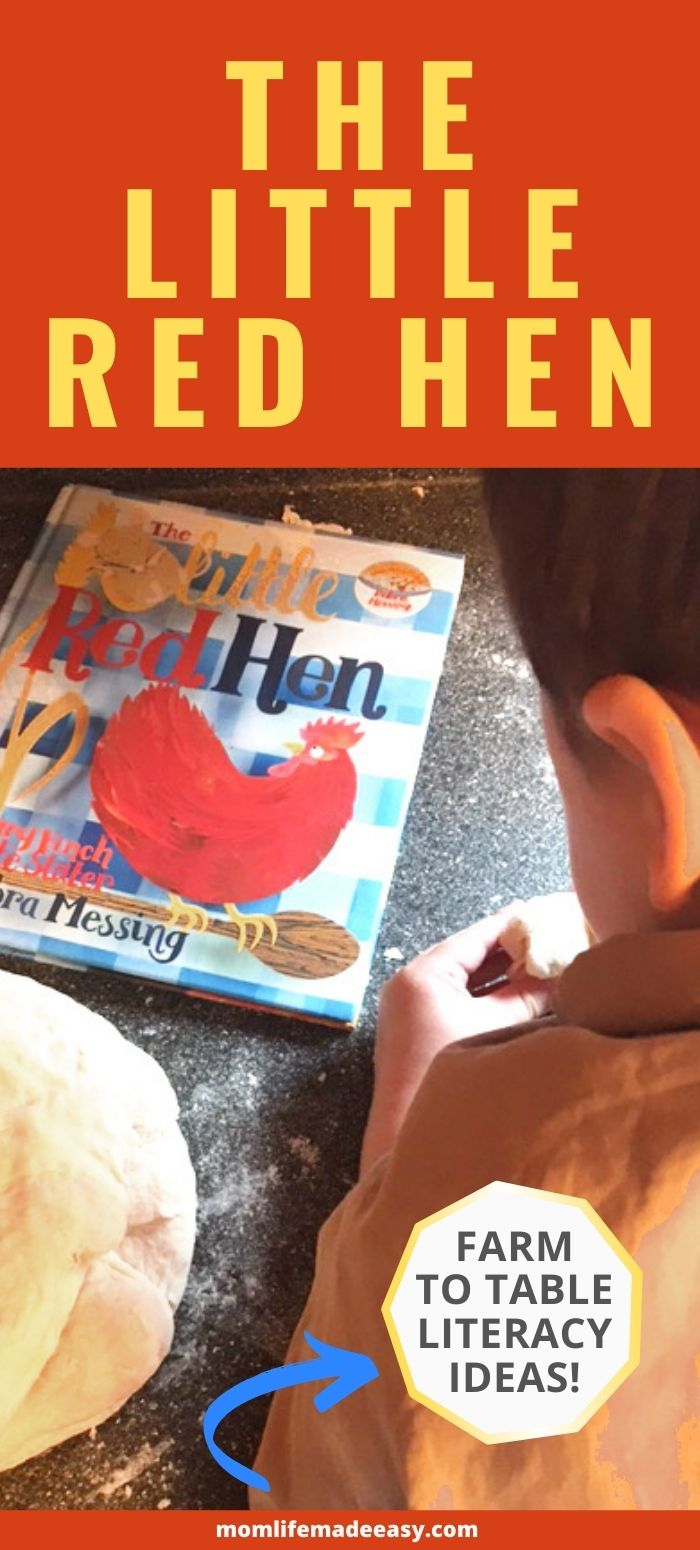 the little red hen promo image